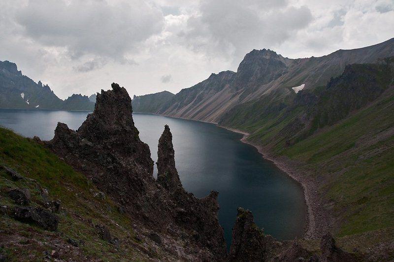 камчатка, вулкан, хангар, кратерное, озеро Кужгумгphoto preview