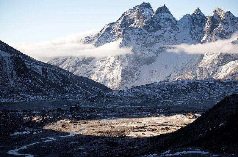 гималаи, рассвет, горы ***photo preview