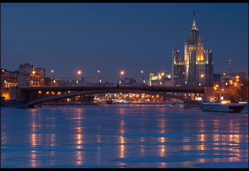Москва. Большой Краснохолмский мост.