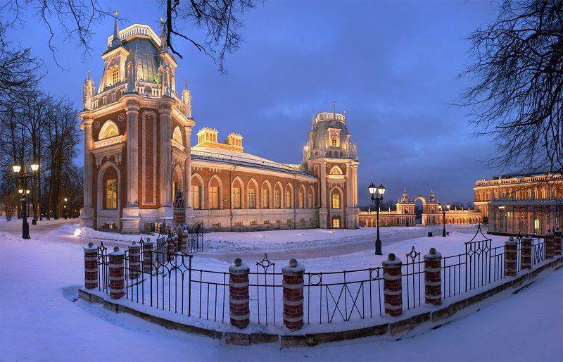 музей, заповедник, царицыно, москва Зимние вечера в Царицыно.photo preview
