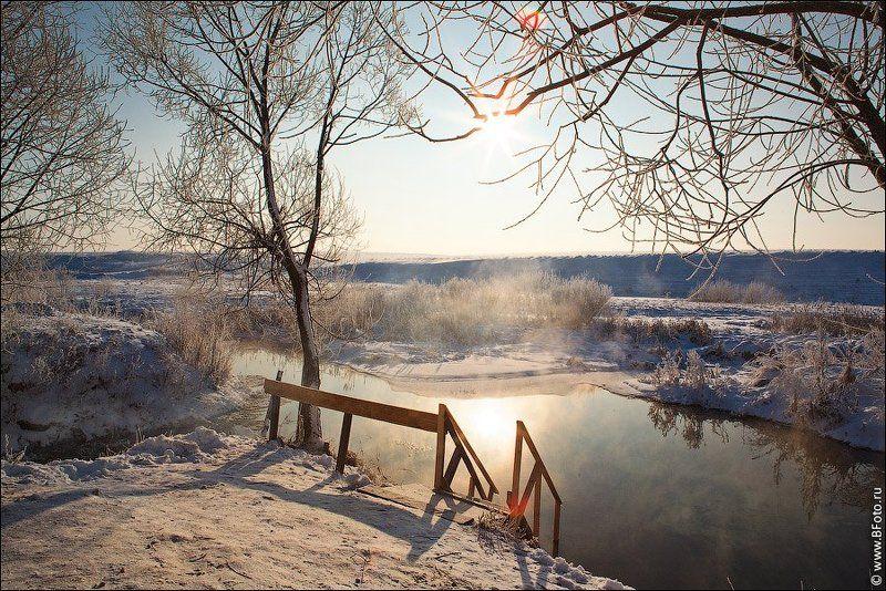 крещенское, утро, мороз Крещенское утроphoto preview