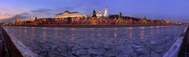 кремль, москва Зимняя классика.photo preview