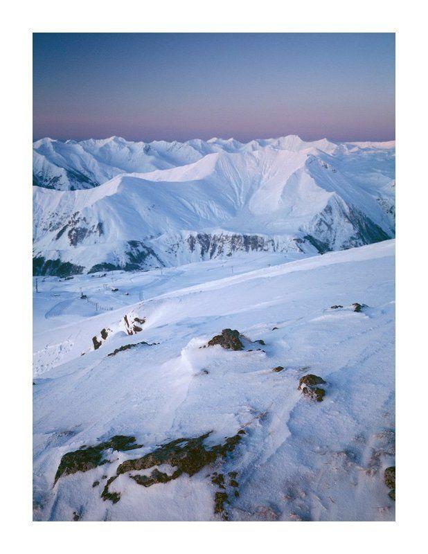 гудаури, грузия, горы, рассвет, кудеби Гудауриphoto preview