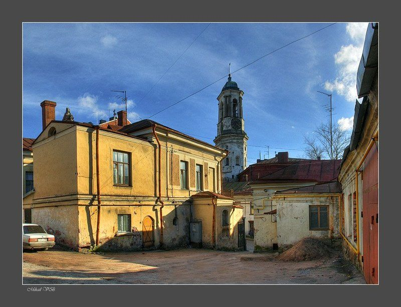 выборг, старый город ~ yards Old City ~photo preview