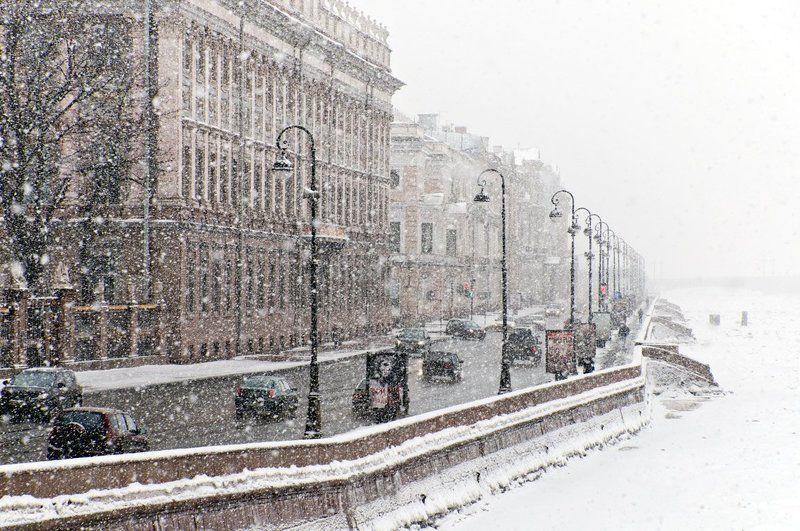 нева, петербург, александр, алексеев, 881 Снегопадphoto preview