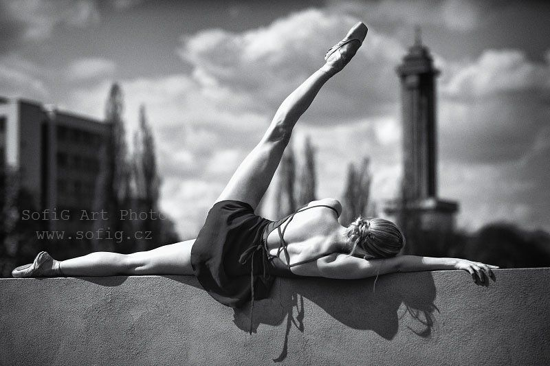 ballet, balet, tanec, dance, sofig, town, shadow ...photo preview