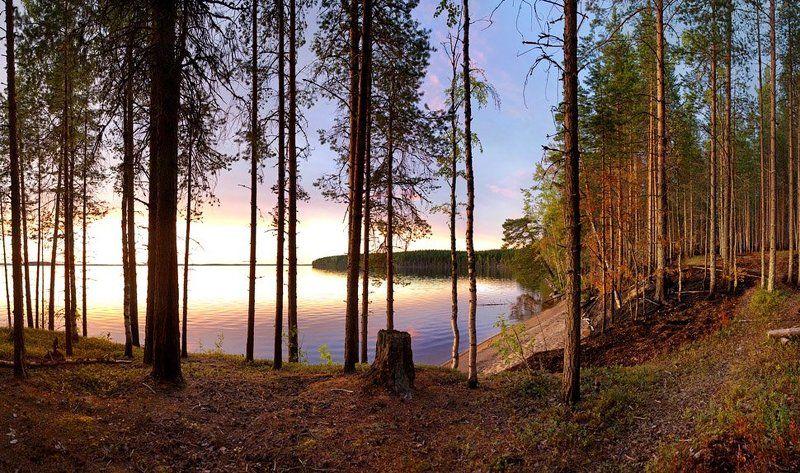 вечером, вдоль, озера Вечером вдоль озераphoto preview