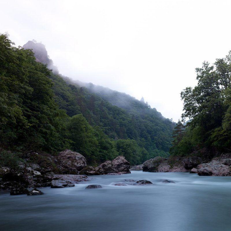 вода, река, горы, природа молокоphoto preview