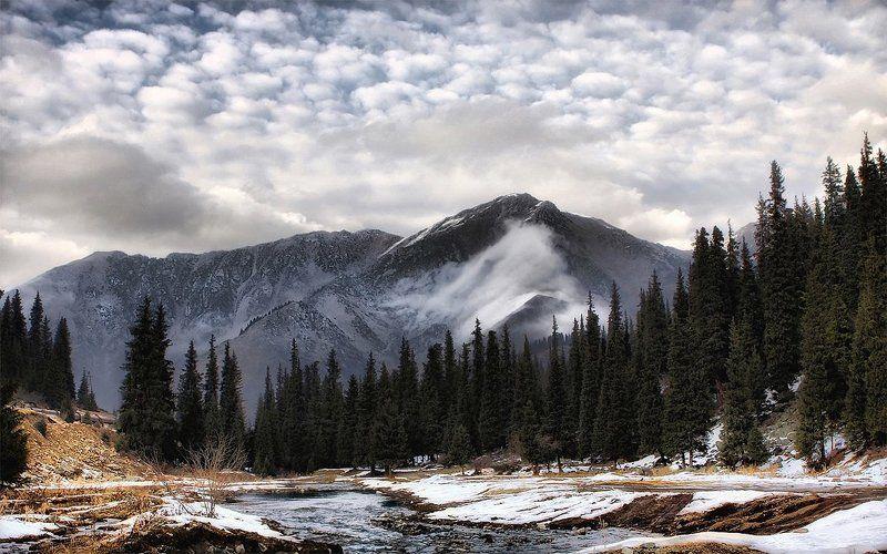 заилийский алатау,зима,горы,казахстан Зима в Заилийском Алатауphoto preview