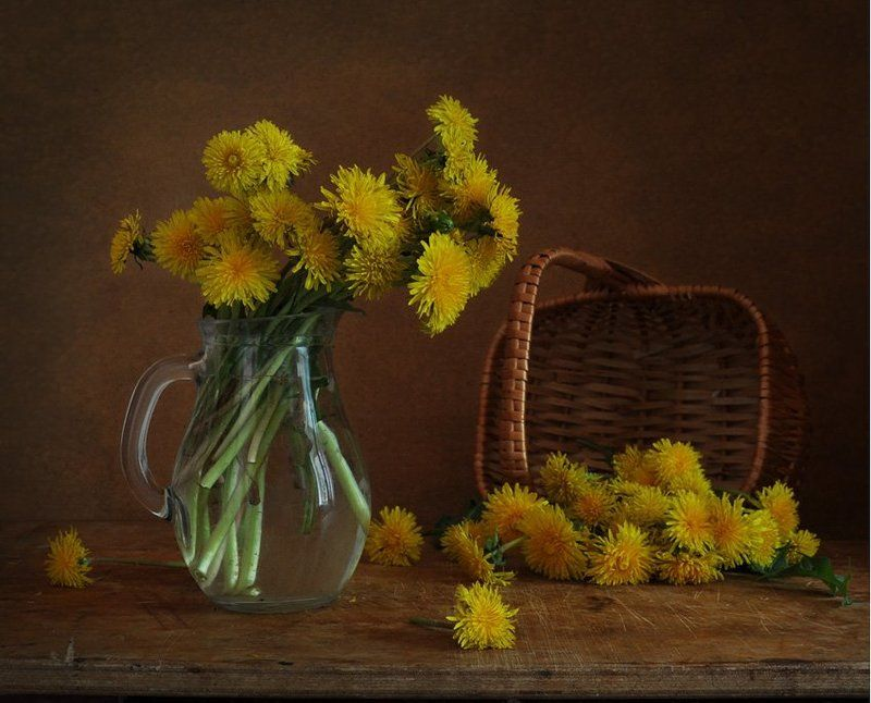 одуванчики, весна солнышкиphoto preview