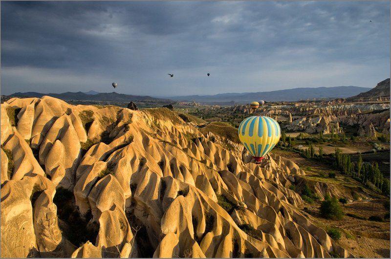каппадокия,турция Волны гасят ветерphoto preview