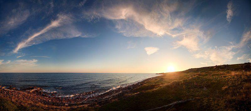 закатное, беломорье Закатное Беломорьеphoto preview