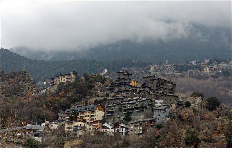 горы, андорра, туман Подобраться к облакам...photo preview