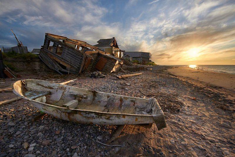 белое, море, сюзьма, шторм У разбитого корытаphoto preview