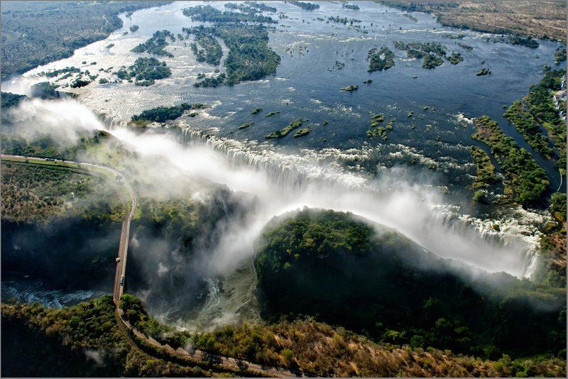 водопад виктория,замбези Водопад Виктория.photo preview