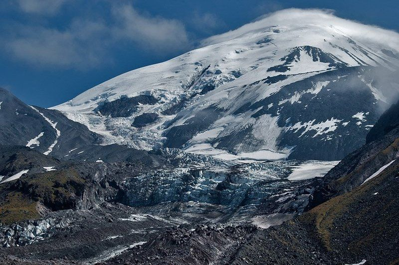 камчатка, вулкан, ичинский, ледник, западный Ледник Западныйphoto preview