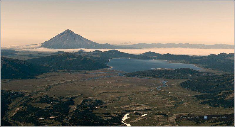 горы,вулкан,опала,озеро,толмачева Опала IIIphoto preview
