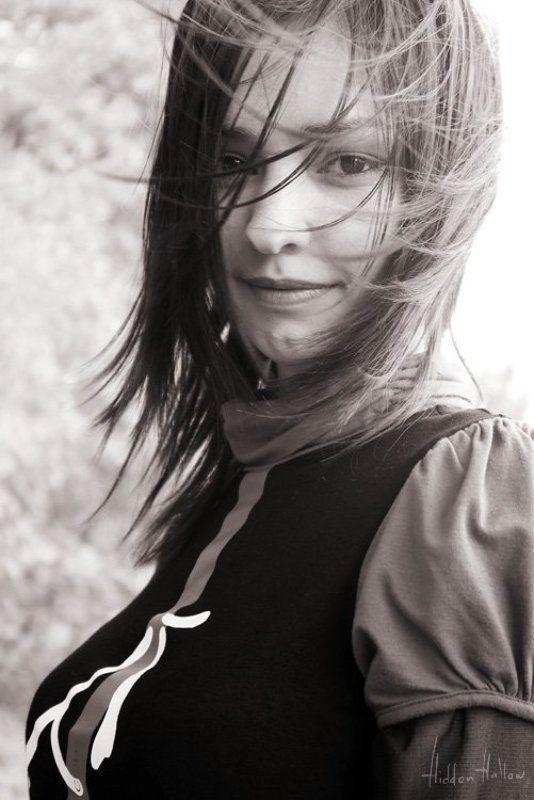 девушка, волосы, ветер, портрет, весна Апрельский Ветерphoto preview