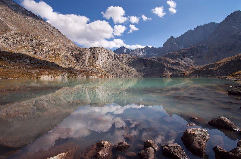 алтай, горный алтай, горы, пейзаж, акчан Озеро Акчанphoto preview