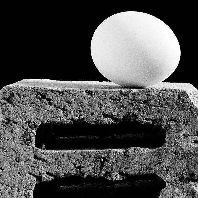 яйцо и кирпичphoto preview
