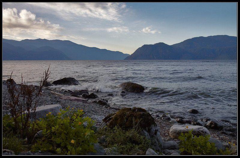 Сентябрьское утро Телецкого озера.photo preview