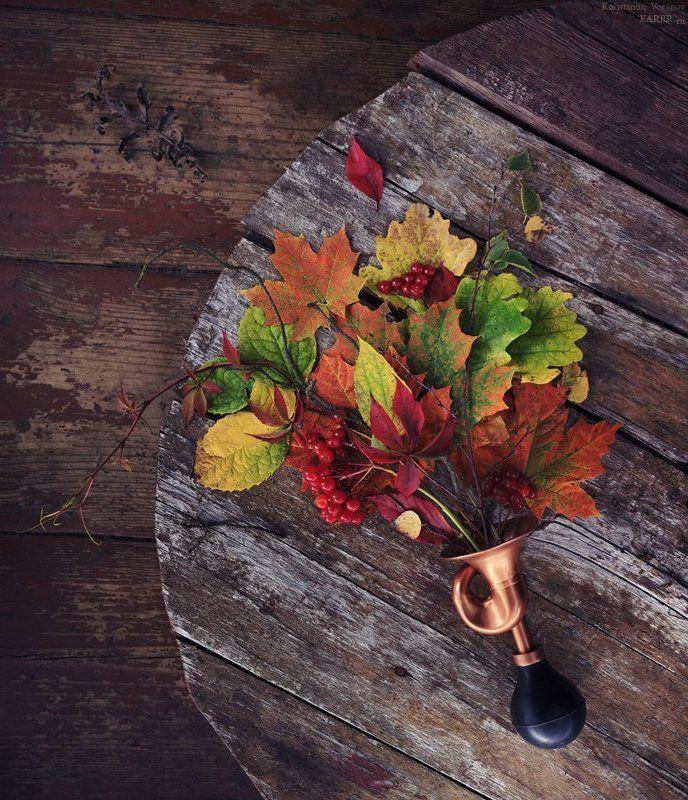 Осенний рожокphoto preview