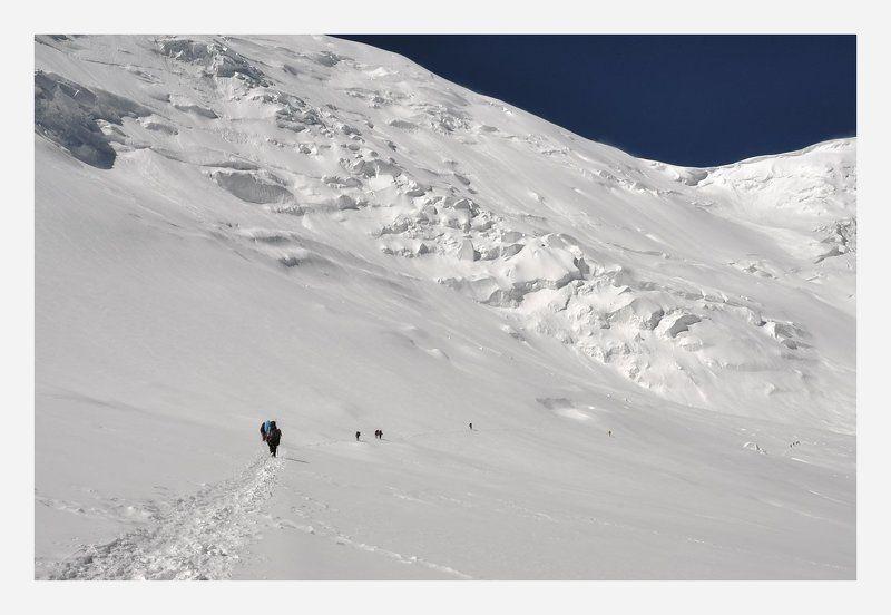 альпинизм, пик ленина, киргизия По пути во 2й лагерьphoto preview