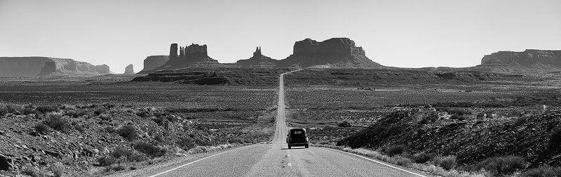 monument, valley, usa, road, oldtimer From here to eternity.photo preview
