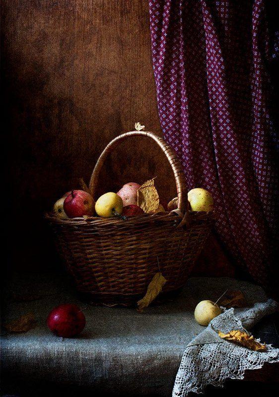 Яблочный натюрмортphoto preview