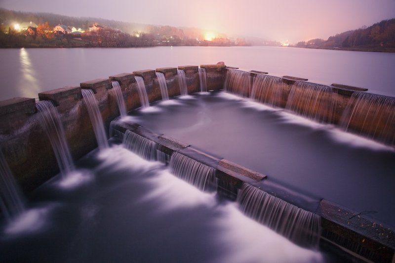 осень, утро, озеро H2Ophoto preview