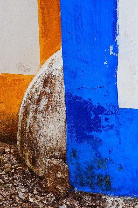 portugal, obidos, acid, colors, black, cat Obidosphoto preview
