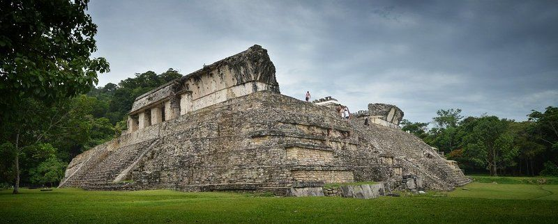 мексика, пирамиды, паленке, ушмаль \