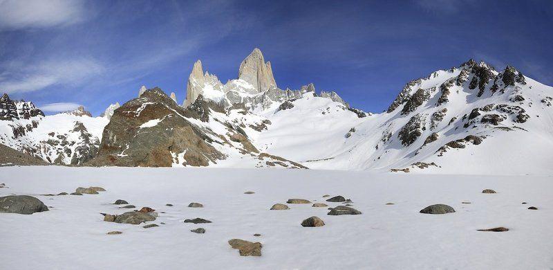Заснеженная Laguna de los Tresphoto preview
