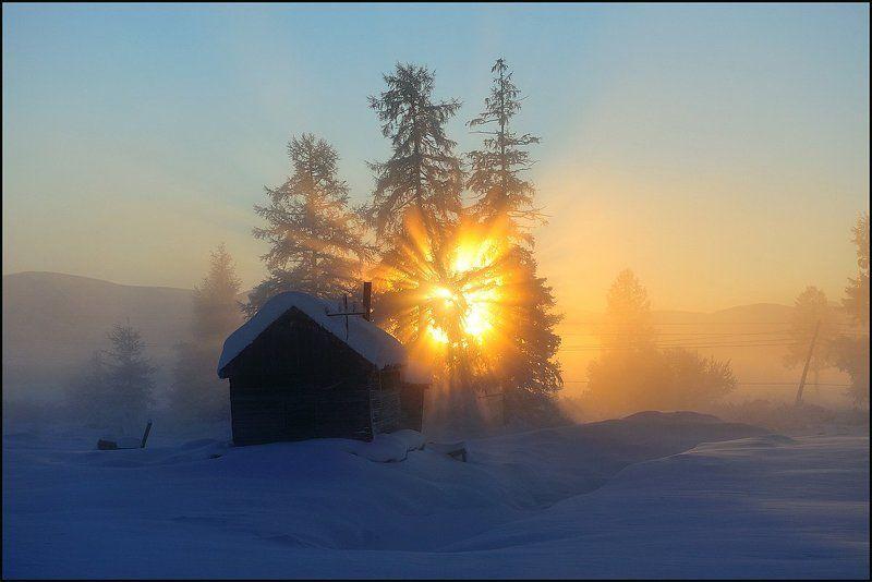 Мороз и солнце...photo preview
