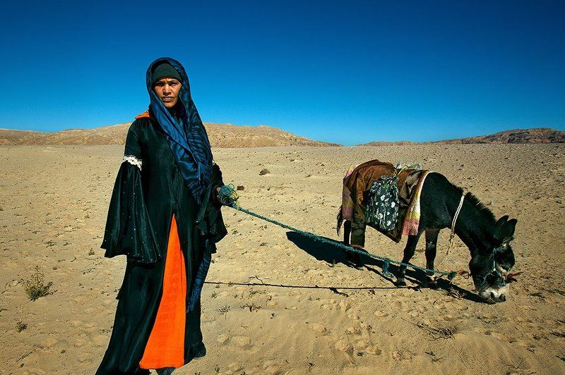 Bedouin Shepherd Girlphoto preview