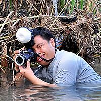 Portrait of a photographer (avatar) sandi nopriyanto