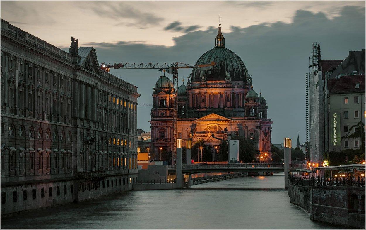 Berliner Dom, Foto liubos, Берлин, Вечер, Германия, Любовь Селиванова