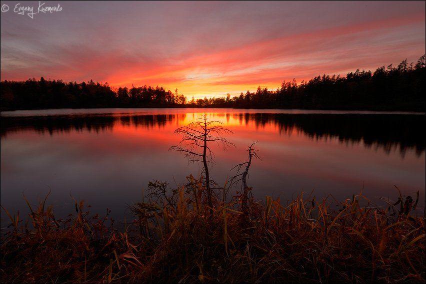 Гора шпамберг, Озеро моховое, Сахалин, Евгений Кузьменко