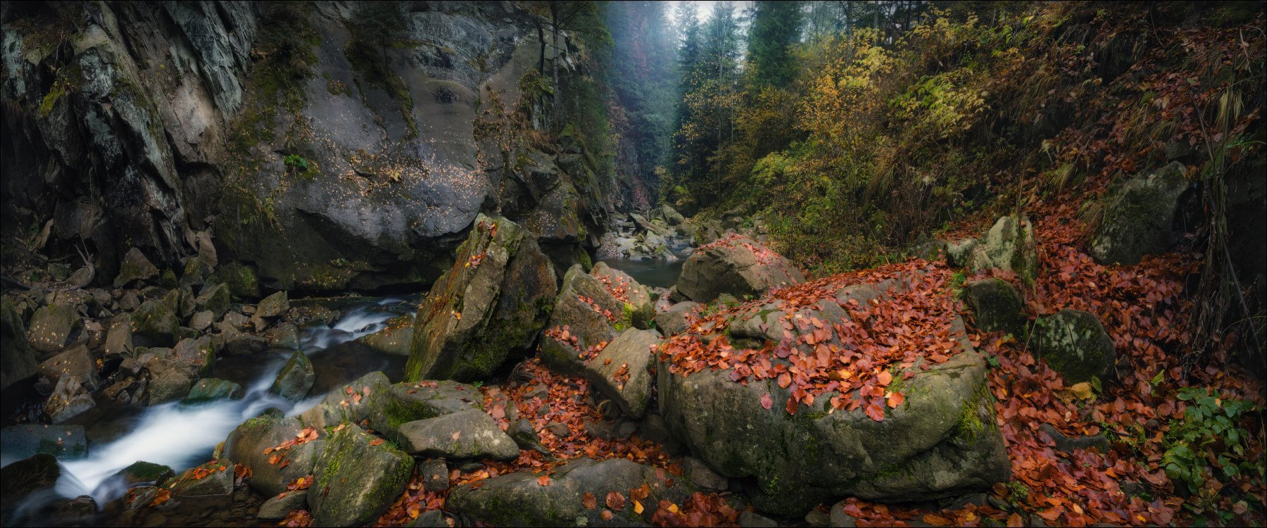 Водопад, Каменка, Карпаты, Прикарпатье, Сколе, Влад Соколовский
