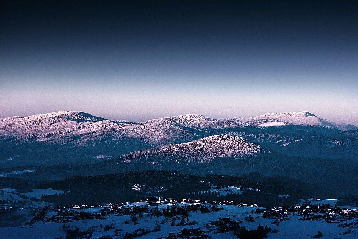 Mountains beskids, Boguslaw Strempel
