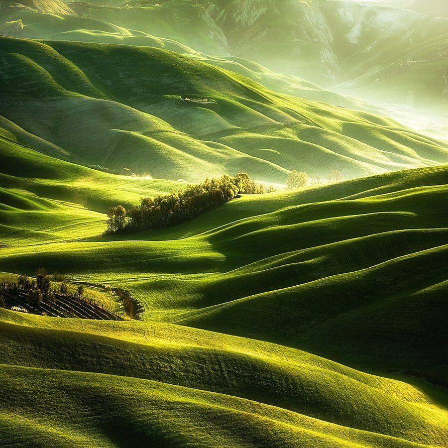 Spring, Tuscany, Boguslaw Strempel