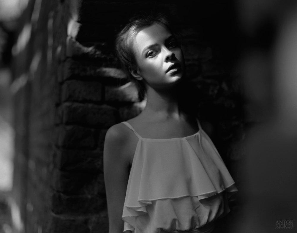 120 film, 6x7, Black&white, Bw, Daylight, Film, Girl, Kodak, Medium format, Pentax67, Portrait, Tmax, Антон Кикер