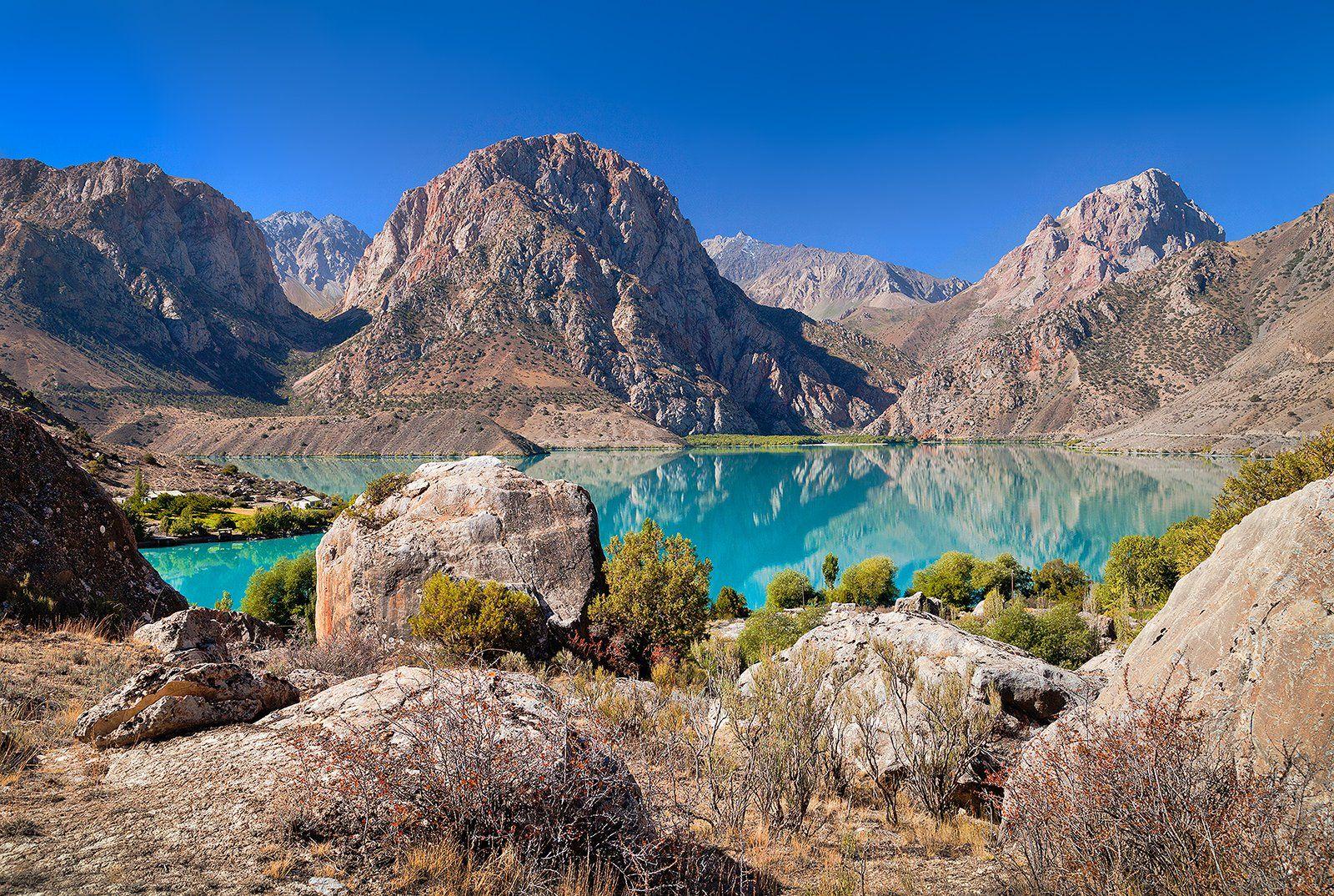 Таджикистан, Средняя Азия, Фанские горы, Искандер, Александр Великий, горы, озеро, бирюзовый, путешествия, Бирюков Юрий