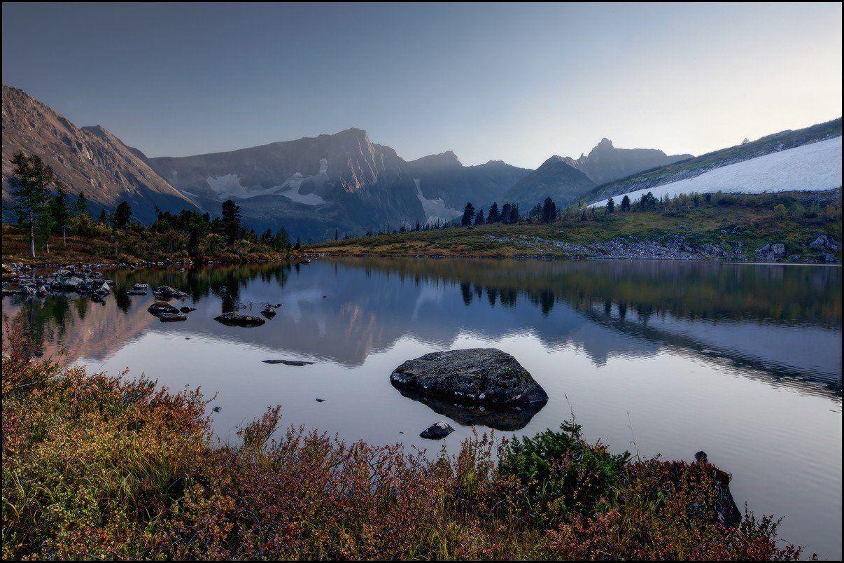 вечер, горы, золотая долина, кузнецкий алатау, озеро круглое, ярославский виталий, Виталий из Н-ска