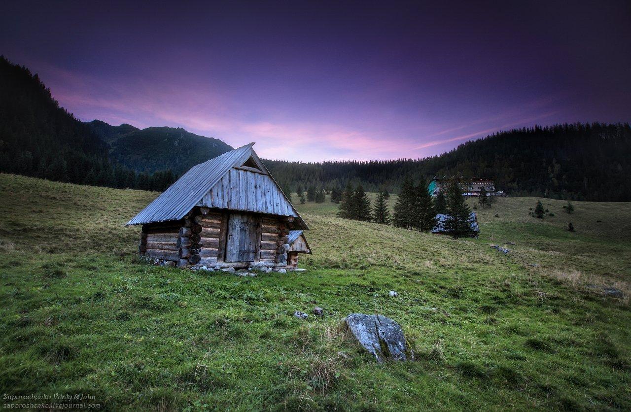 evening, familygarden, kalatowki, poland, tatra mountains, tatry, vint26, zakopane, zaporozhenko, Zaporozhenko Vitaly & Julia