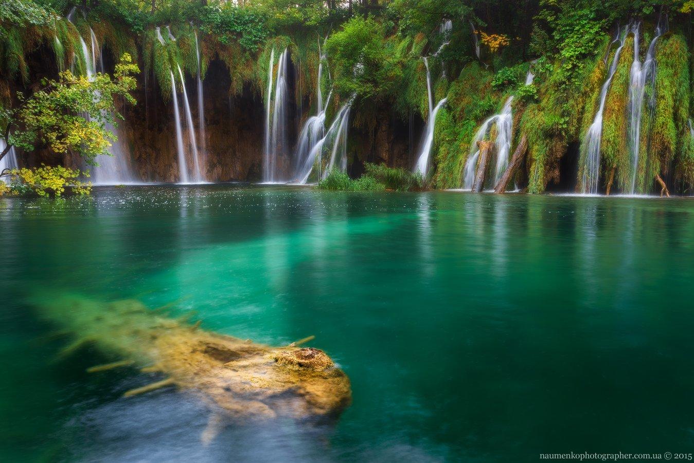 naumenkophotographer, sony a 7r, плитвицкие озера, хорватия, водопад, деревья, озеро, осень, панорама, пейзаж, размер, Александр Науменко