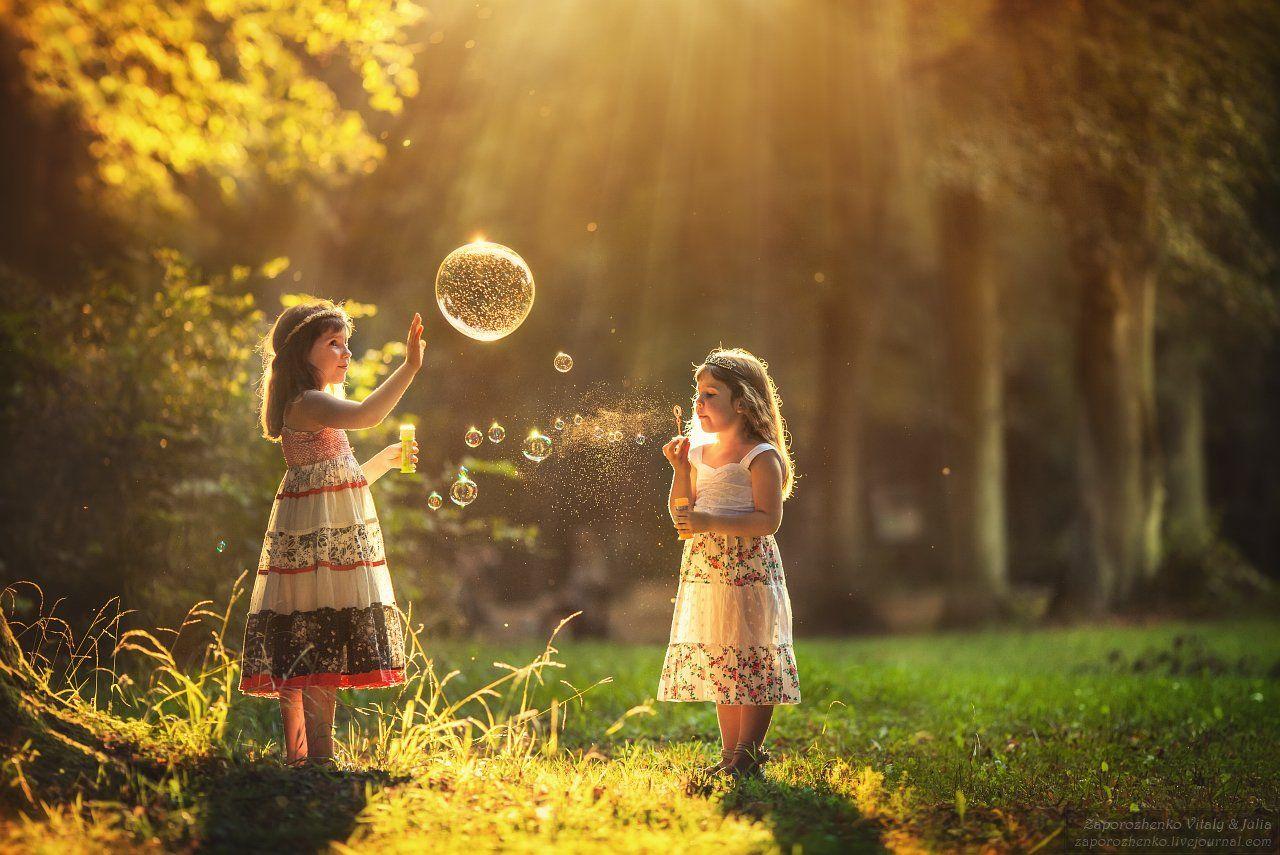 Children, Dream, Family and children's photos, Family garden, Fotograf krakow, Fotografia krakow, Krakow, Sisters, Vint26, Zaporozhenko, Zaporozhenko Vitaly & Julia