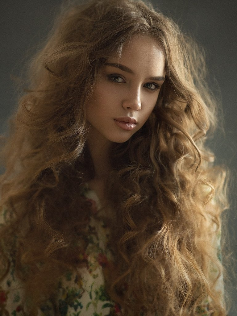 Eyes, Girl, Hair, Portrait, Казанцев Алексей
