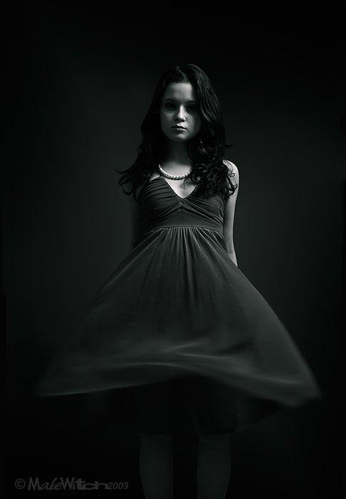 girl ,portrait ,black&white, девушка ,портрет, черно-белое, Максим Малевич