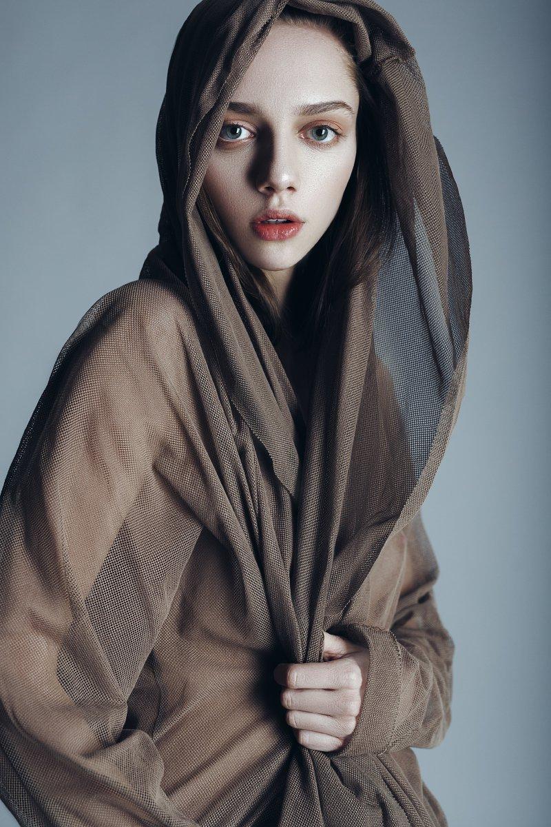 girl, beautiful, studio, eyes, lips, Корнеев Виктор